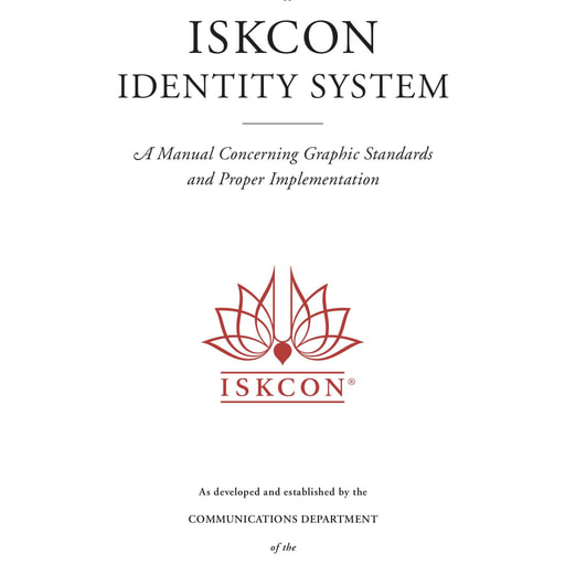 ISKCON's Logo and Use Guidelines Manual