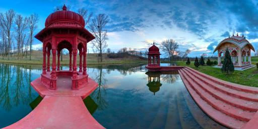 ISKCON Krishna Valley Temple in Hungary