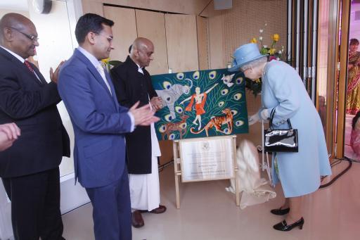 ISKCON UK meeting with Queen Elizabeth